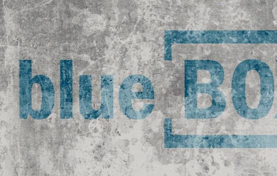 Blaue Boxen brauchen Besucher