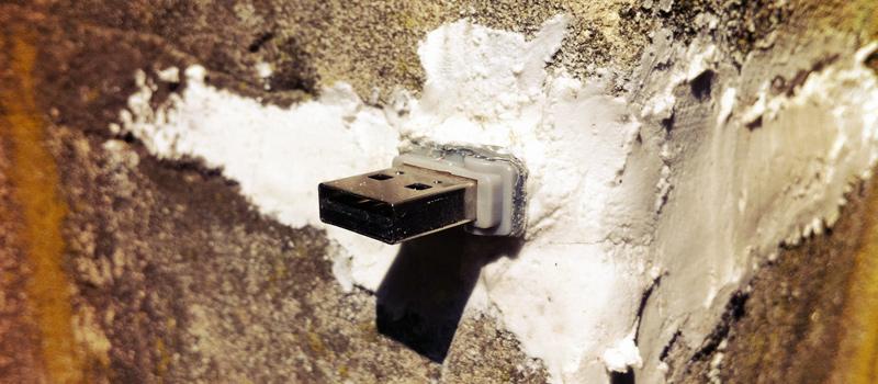 USB-Filesharing im Stadtraum